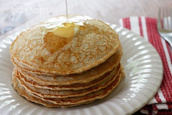 Whole Wheat Pancakes {New and Improved} | Skinnytaste: Low Fat, Breakfast, Food, Fat Recipe, Whole Wheat Pancakes, Favorite Recipes