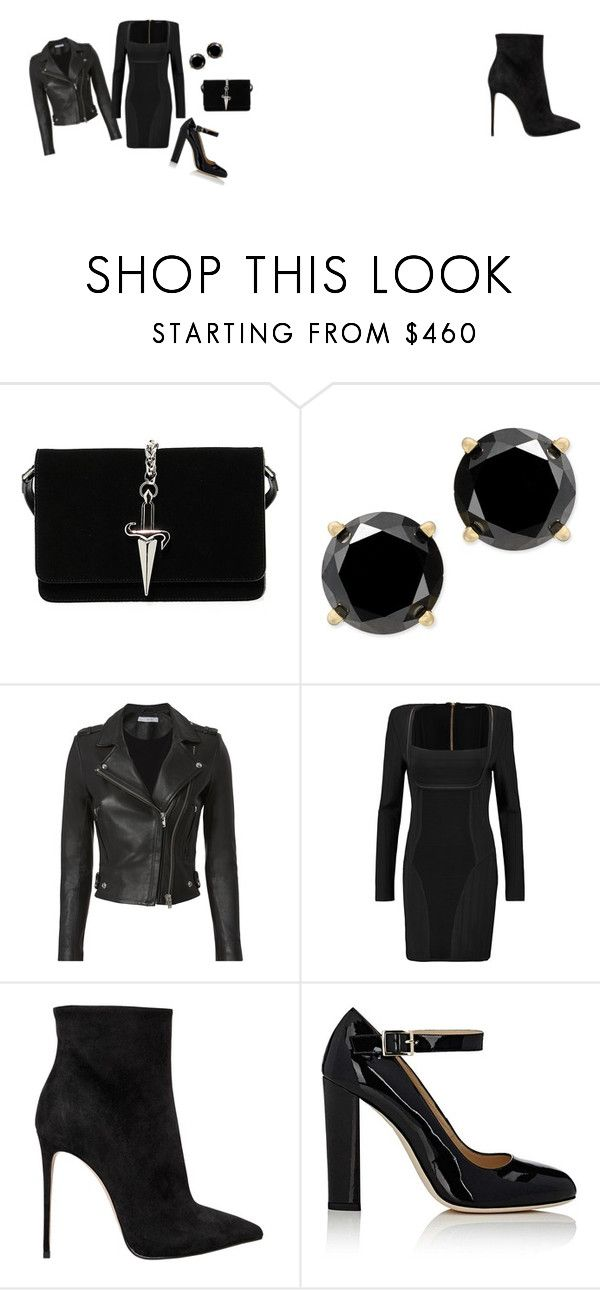 """""""Untitled #27"""" by dadulla on Polyvore featuring Cesare Paciotti, IRO, Balmain, Le Silla and Alexander White"""
