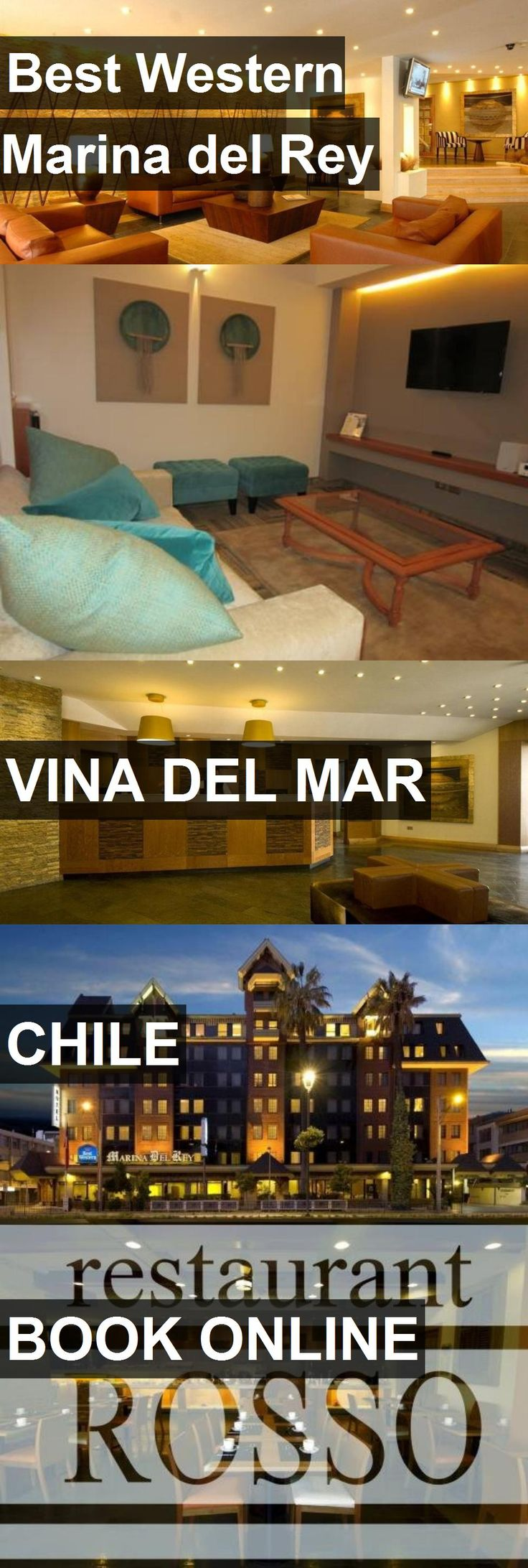 Hotel Best Western Marina del Rey in Vina Del Mar, Chile. For more information, photos, reviews and best prices please follow the link. #Chile #VinaDelMar #travel #vacation #hotel
