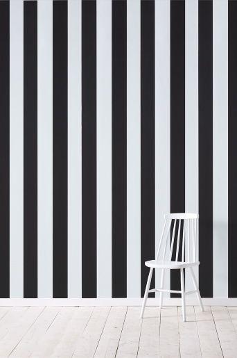 Wallpaper by ellos Lester-tapetti, musta