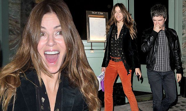 Noel Gallagher's wife Sara MacDonald channels the 70s in flared cords