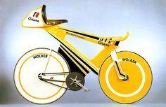 Laurent Fignon's Gitane CLM time trial machine