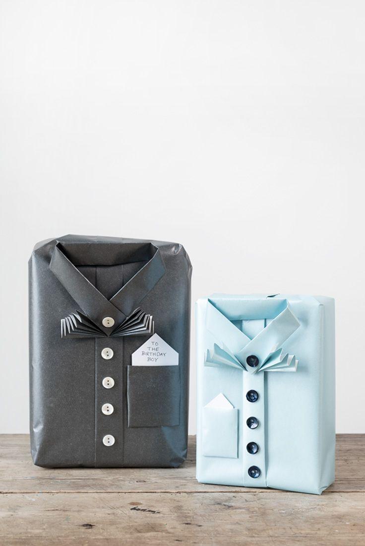 DIY : Creative gift wrapping idea by Søstrene Grene
