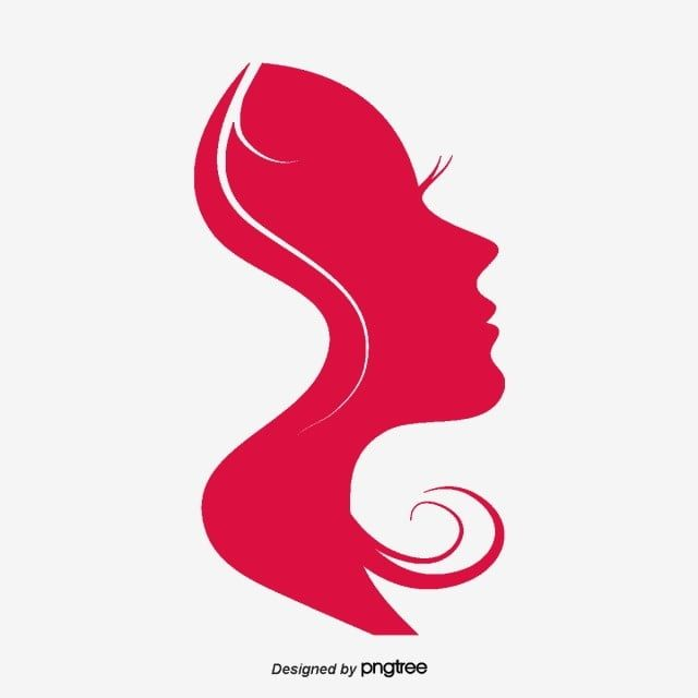 Red Womens Silhouette Womens Day Elements Red Clipart Hair Woman Png Transparent Clipart Image And Psd File For Free Download Powerpoint Background Free Line Art Drawings Greenscreen