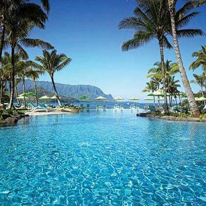 Kauai, Hawaii. St Regis Princeville