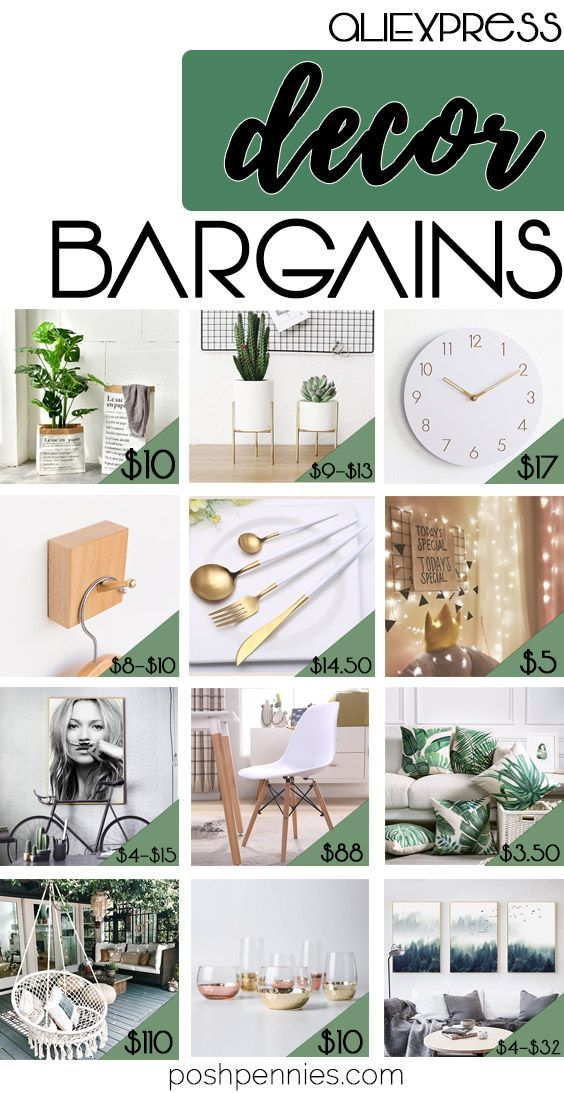 The Best AliExpress Home Decor Bargains