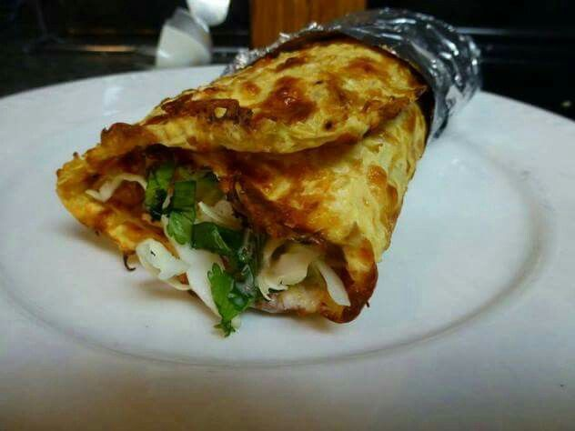 Got to try this recipe shared by Joyce Blonskji fot Tilapia Burritos with a cawliflower tortilla.