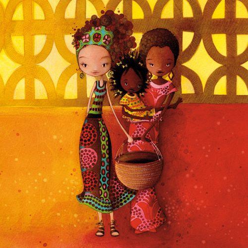 Voyage en Afrique - Cartes régulières