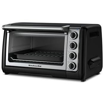 Kitchenaid Platform Toaster Oven 6-Slice St/St+black | Kitchen Stuff Plus  #KSPPin2Win