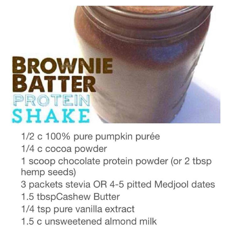 Brownie Batter Protein Shake