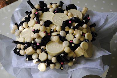 LOS DETALLES DE BEA: chocolate blanco & regaliz negro...