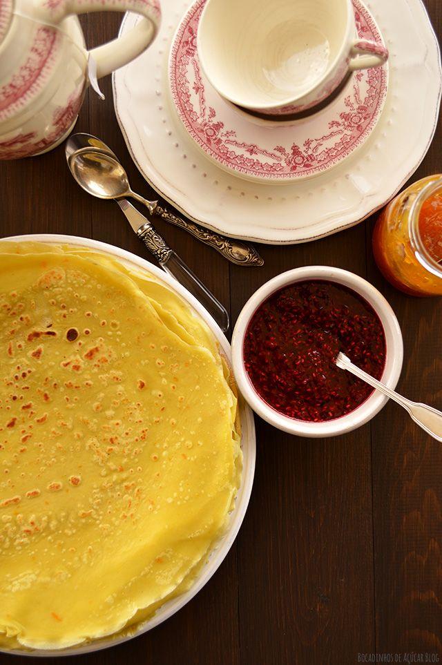 """Bocadinhos de Açúcar: Crepes franceses para o """"Mardi gras"""""""