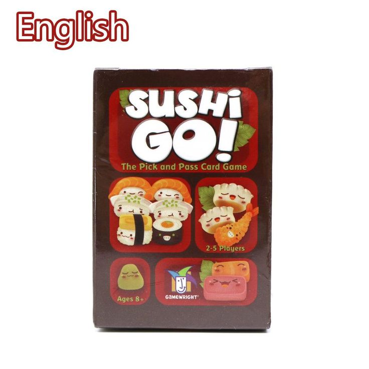 [Visit to Buy] Sushi Go Full English Version card game for family party fun board game #Advertisement