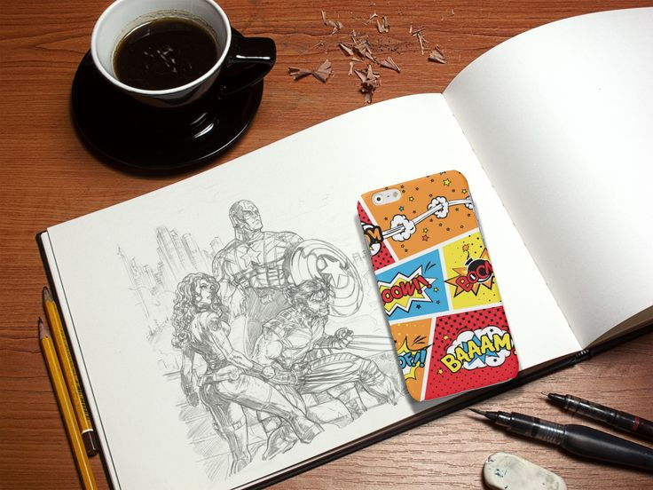 #Cover #Case #Comics #boom #cartoon  http://www.creatink.com/product/iphone-cover-case/comics/