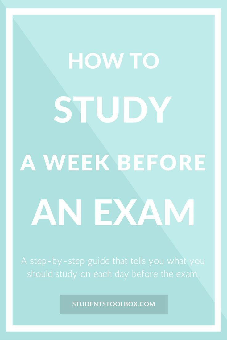 Find out this last minute study tips. This blog post gives you tips to fully prepare an exam in the shortest period of time (and hopefully some motivation too). Also free feel to check out more blog posts on college tips for high school and college: studentstoolbox.com.