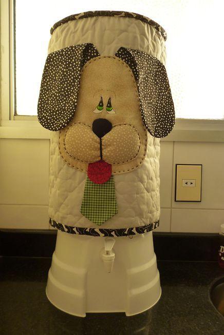 Projeto de Capa de Bombona de Cachorrinho