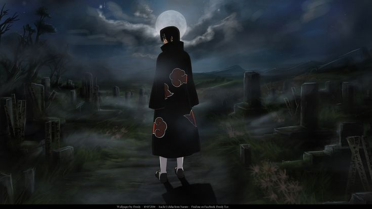 1920x1080 Anime Naruto Itachi Uchiha Wallpaper