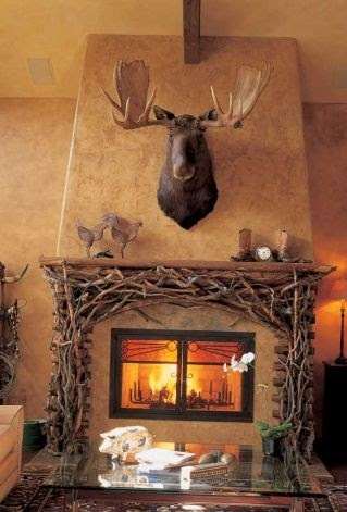 Mantles and Corner fireplace layout