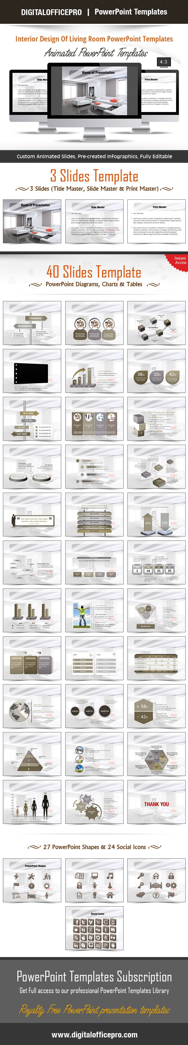 Impress and Engage your audience with Interior Design Of Living Room PowerPoint…