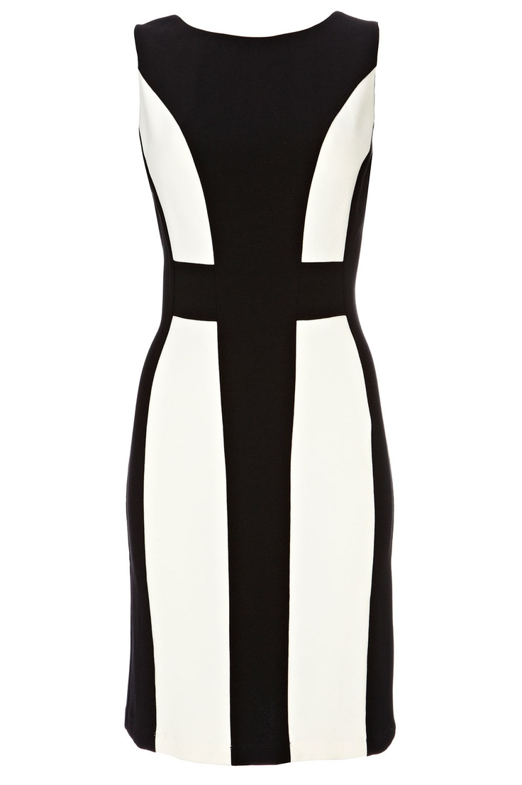 Black And Ivory Bodycon Dress - View All Dresses - Dresses - Womens Fashion - Wallis
