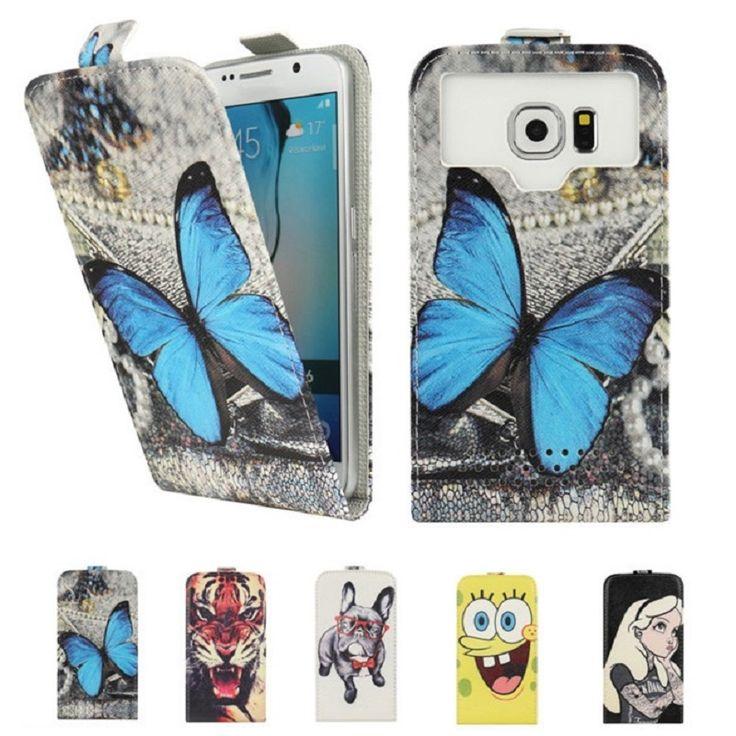 Fashion Cartoon Flip PU Leather Phone Cases for Motive TurboPhone4G compact 1210 Capas Coque Fundas