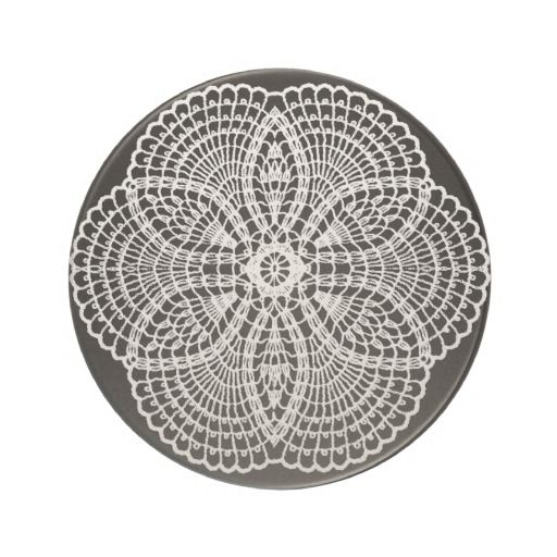 Doily Art Coaster