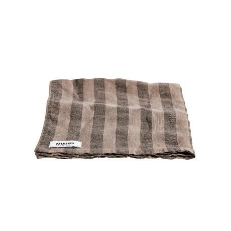 Napkin Stripe Brown
