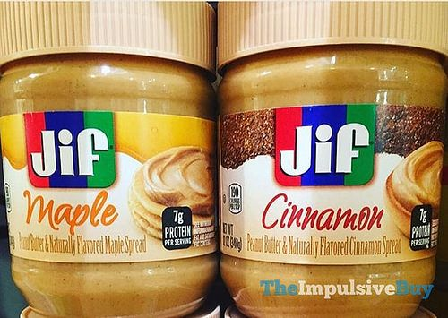 SPOTTED ON SHELVES: Jif Peanut Butter & Maple and Peanut Butter & Cinnamon Spreads