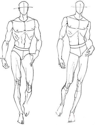 服装设计人体结构人物线稿手稿基础自学绘画临摹素材 - 堆糖 发现生活_收集美好_分享图片