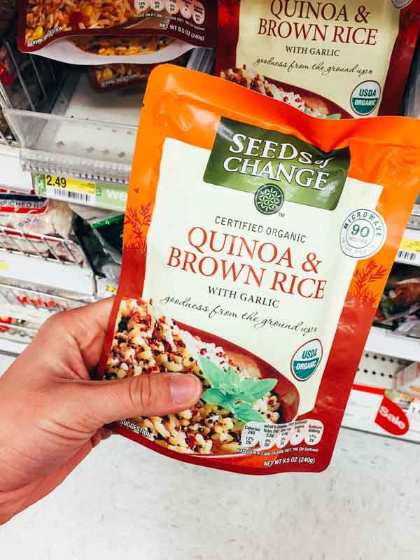 Grocery Shopping at Target - Quinoa and Brown Rice