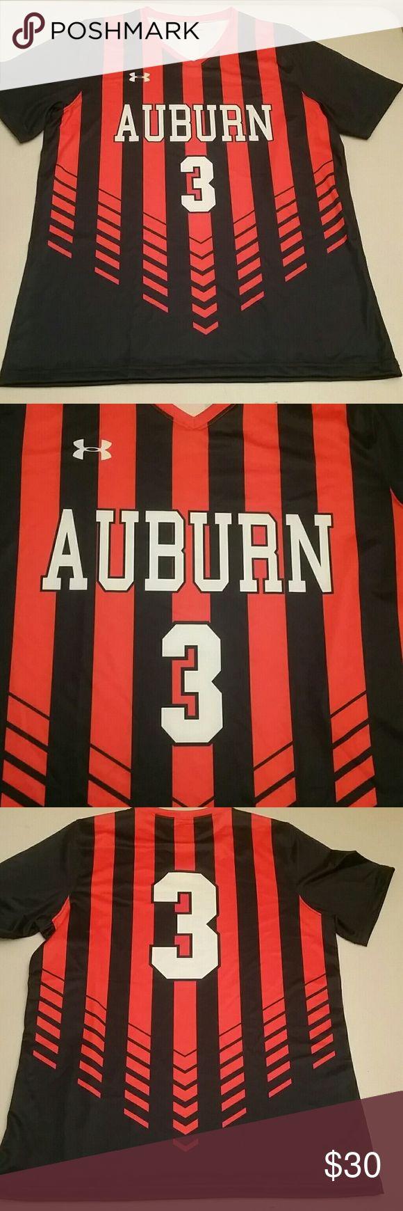 Under armer  jersey Auburn 2016 soccer jersey brand new Under Armour Tops