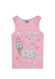 Peppa Pig Ice Cream Vest - so cute love this from Tesco clothing!