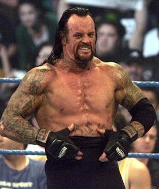 Undertaker body statistics celebrity