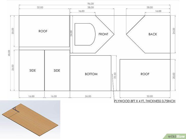 les 25 meilleures id es de la cat gorie construire une niche sur pinterest enclos pour chien. Black Bedroom Furniture Sets. Home Design Ideas