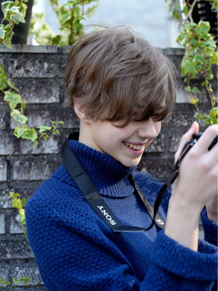常盤 大地 butterflyさんのヘアカタログ | 大人かわいい,外国人風,アッシュ,パーマ,レイヤー | 2016.01.25 18.01 - HAIR