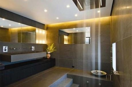 A waterfall in your bathroom?