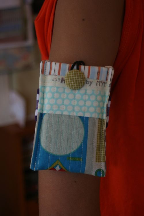 ipod arm band case tutorial