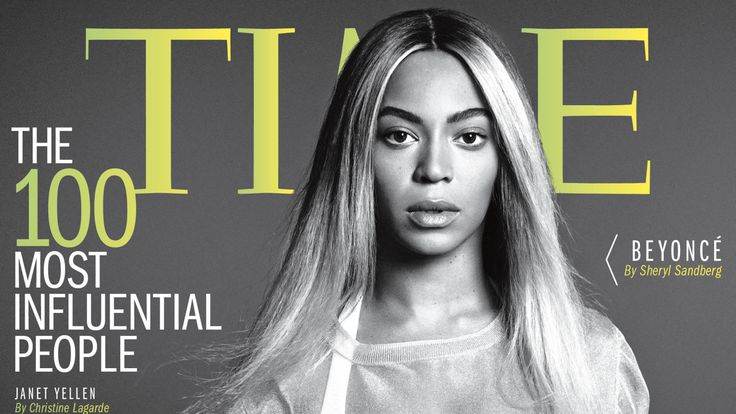 Beyonce lands 'TIME 100' cover: 2014