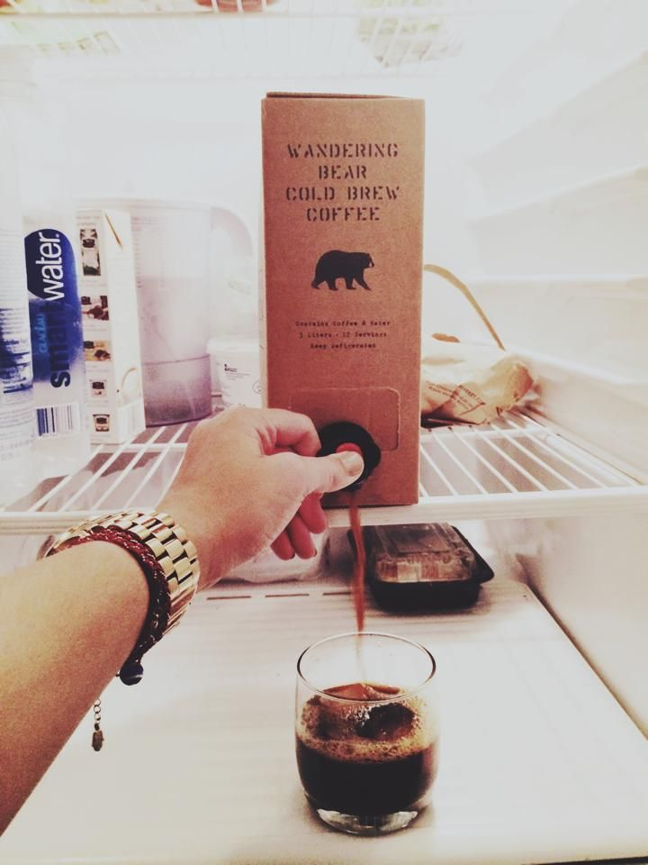 new concept, cold brewed coffee in a box.Wandering Bear Coffee Co. is launching this summer