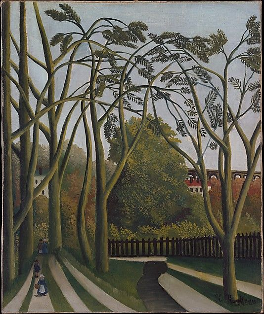 Henri Rousseau (le Douanier) (French, 1844–1910). The Banks of the Bièvre near Bicêtre. The Metropolitan Museum of Art, New York. Gift of Marshall Field, 1939 (39.15) #paris