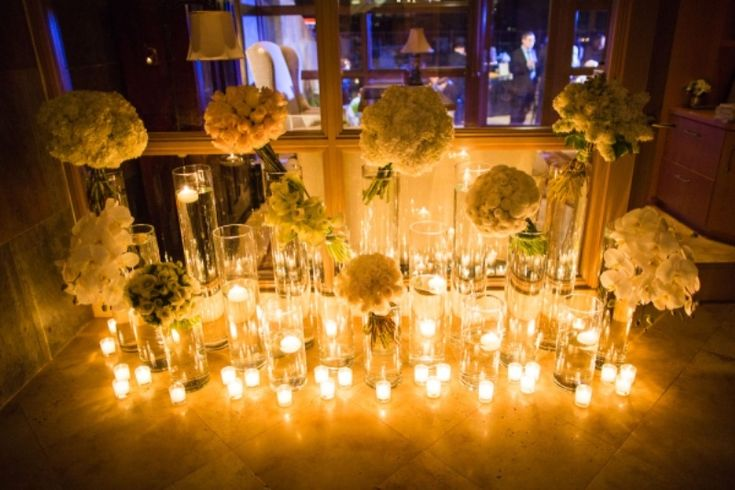 14 best Wedding Decorations Candles images on Pinterest | Decorating ...