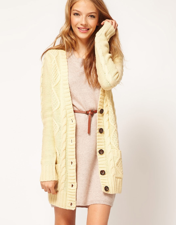 long cardigan / asos >> Love this outfit!