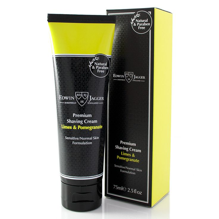 Edwin Jagger Limes and Pomegranate Shaving Cream