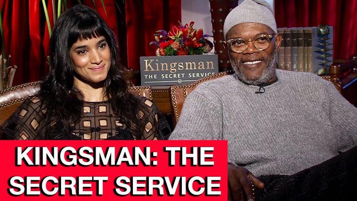 Kingsman The Secret Service Interview: Samuel L. Jackson & Sofia Boutella Interview