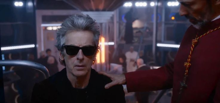Peter Capaldi's Doctor is blind! Now he wears these glasses! - Doctor Who Extremis Review
