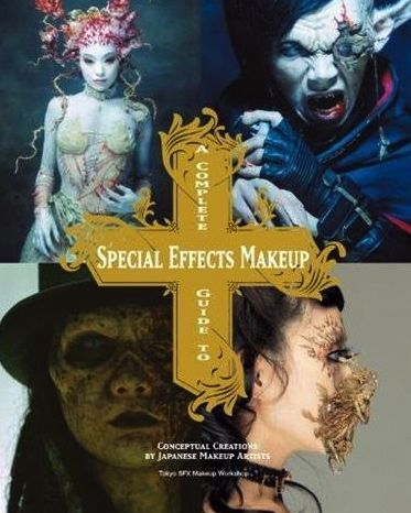 A Complete Guide to Special Effects Makeup covers a wide range of makeup techniques for beginners to makeup experts. Learn step by step how to create everything from gashes and scars to mask making and making molds for casting. Complete with color photos of each step of the process and a makeup glossary of effects products. An innovative collection of conceptual work by Japanese makeup artists of the Tokyo SFX Makeup Workshop.