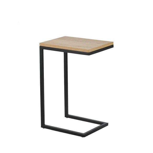 Ideal Comme Table D Appoint Dans Le Prolongement Du Canape Ou Dans L Entree Le Bout De Canape Bois E Table Bout De Canape Bout De Canape Bout De Canape Design