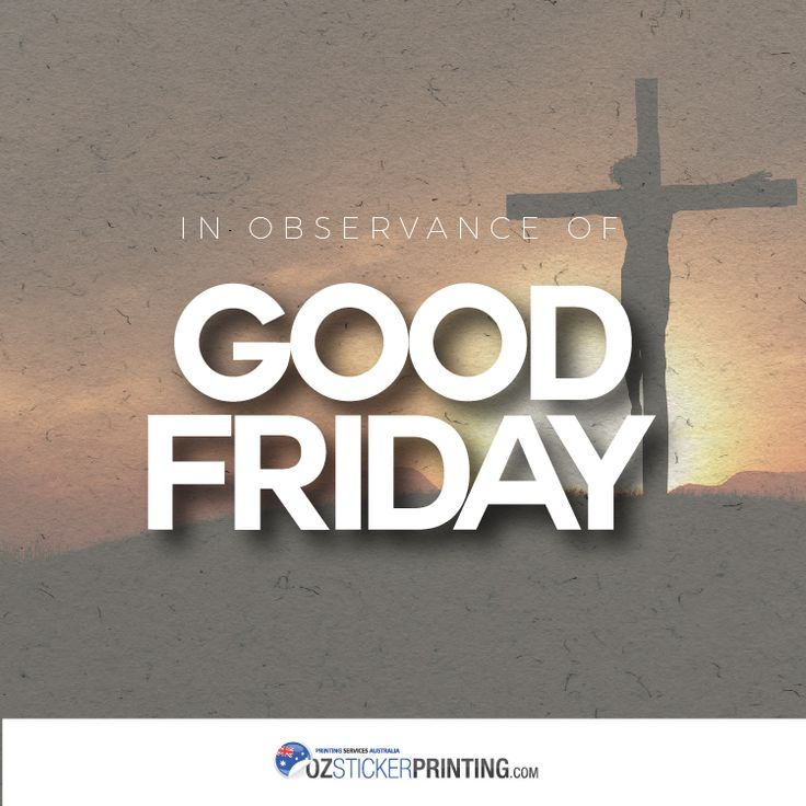 By His wounds, we are healed. - Isaiah 53:5 We are closed today until Monday, April 17, 2016 in the observance of the Roman Catholic Holy Week. Have blessed #GoodFriday!
