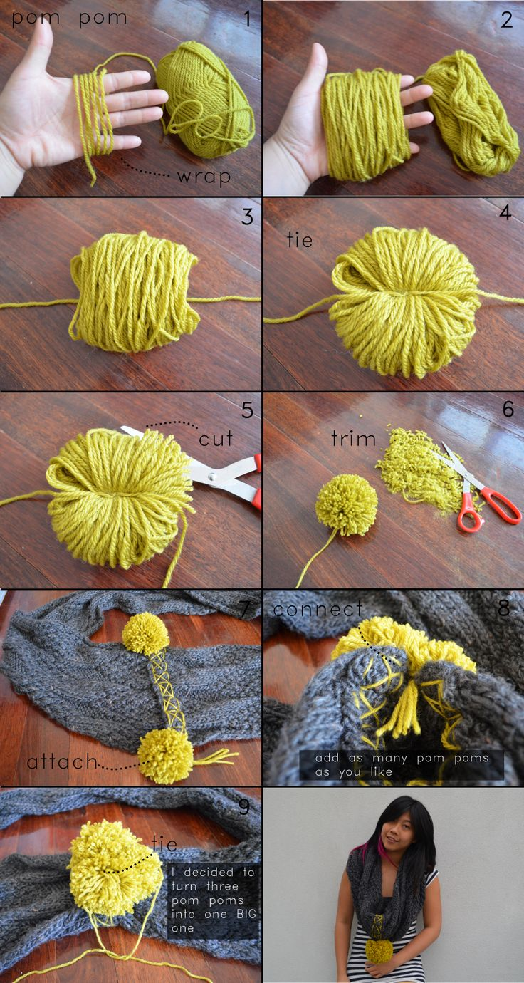 87 best pom pom ideas images on pinterest | accessories, antique