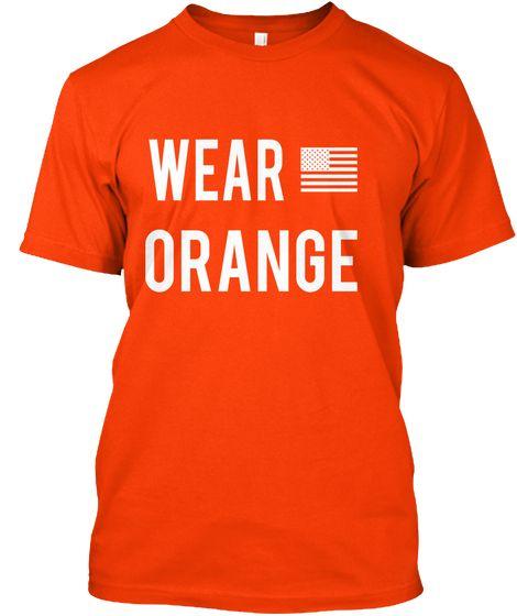 Wear Orange Orange T-Shirt